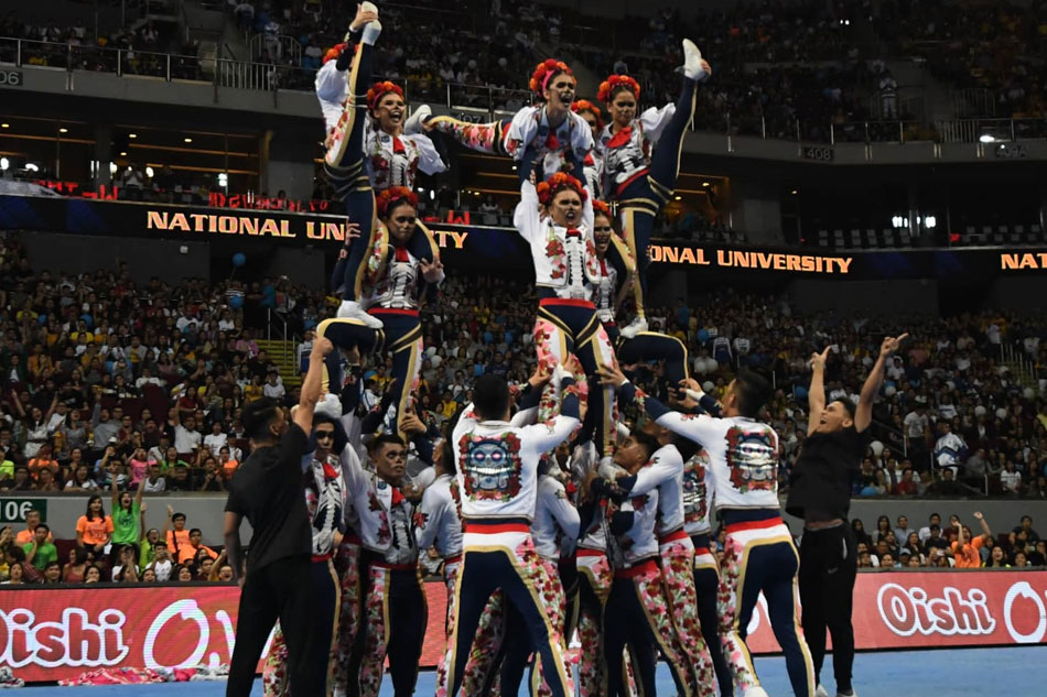 WATCH: NU Pep Squad 'back from the dead' with festive performance in Cheerdance