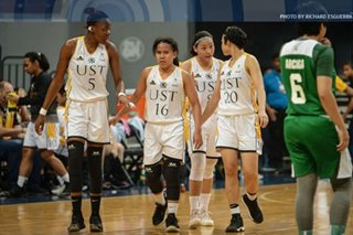 UAAP: FEU women down Adamson to take No. 2 seed, as UST advances