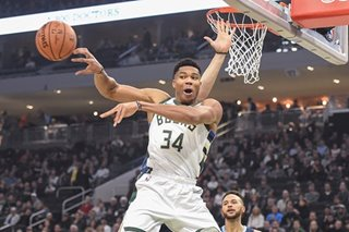 NBA: Antetokounmpo hurt in Bucks' victory