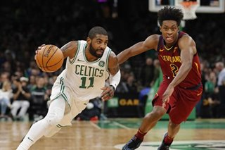 NBA: Irving scores 29 as Celtics romp over Cavs