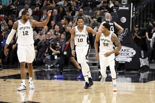 NBA: Balanced attack leads Spurs past Timberwolves