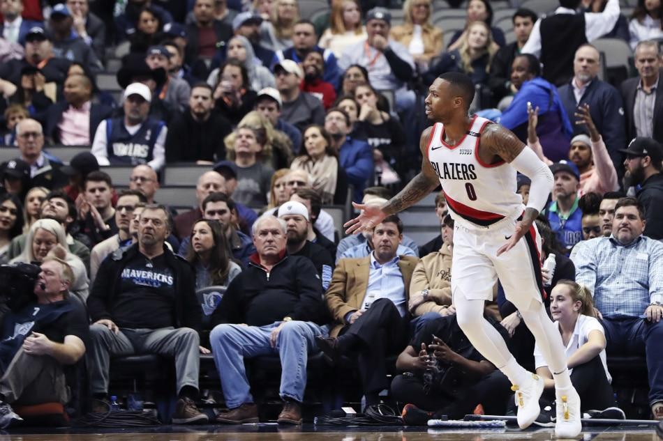 NBA  Lillard leads Blazers over Mavs in OT  cf0a2379f7