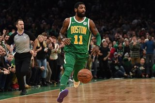 NBA: Irving shoots Celtics past 76ers in OT