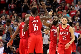 NBA: Harden, Rockets rally past Thunder