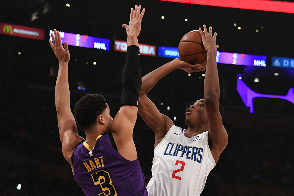 nba with lebron out lakers stumble vs clippers abs cbn news