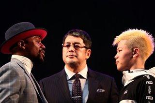 'Money' Mayweather takes on 'Ninja Boy' kickboxer in Japan rumble