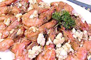 RECIPE: Shrimp in salted egg