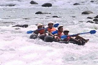 Water extreme tubing sa Albay, dinarayo