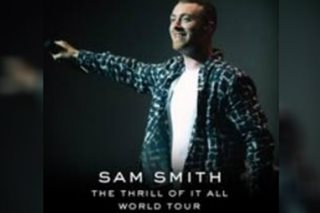 Ticket prices for Sam Smith's Manila concert announced