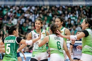 UAAP volleyball: La Salle seniors make sure to extend de Jesus' finals streak