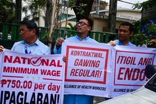 Palace: Up to Congress to abolish wage boards