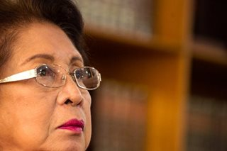 Carpio Morales: 'I did my best; if public is unhappy, so be it'
