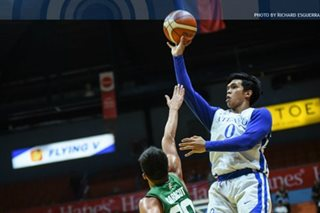 Ateneo wards off fighting La Salle in OT to sweep FilOil elims