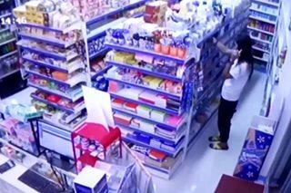 SAPUL SA CCTV: Babae nagnakaw ng beauty products, pabango sa grocery