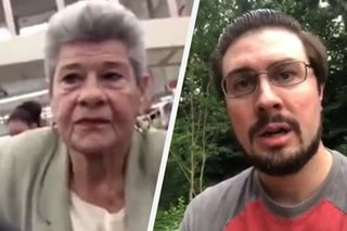 WATCH: American defends Fil-Am couple targeted with racial slurs