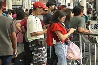Pag-uwi ng mga nag-Bagong Taon sa Maynila, pahirapan