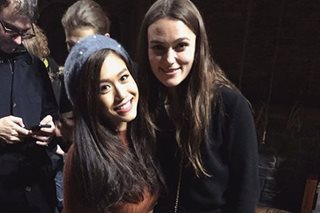'I freaked out': Rachelle Ann Go meets Keira Knightley in London
