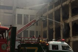 Cebu mall fire under control