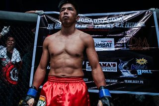 MMA: Geje Eustaquio, handa na para sa 'One Global Superheroes'