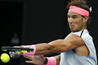Nadal unfazed by rankings race on return