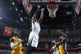 Grizzlies snap short-handed Lakers' win streak