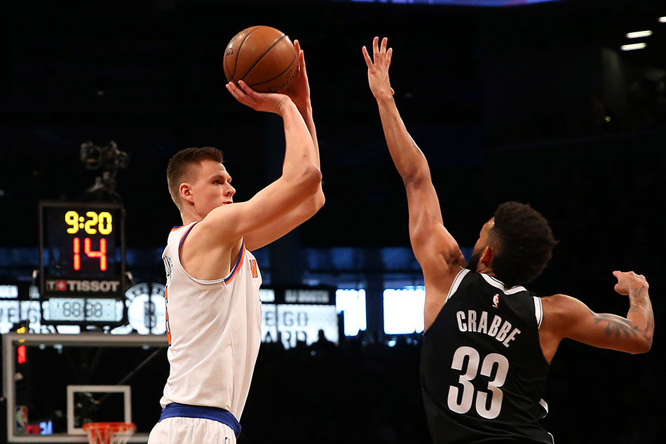 Porzingis, Beasley Carry Knicks Over Nets In Battle Of The Boroughs