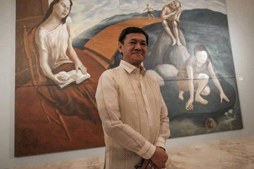 Elmer Borlongan's art career turns silver via landmark Met exhibit