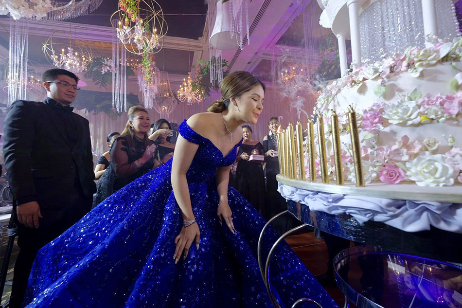 LOOK: Exclusive photos from Isabelle Duterte\'s debut | ABS-CBN News