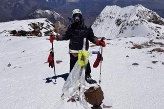 Pinay climber Carina Dayondon conquers South America's highest mountain