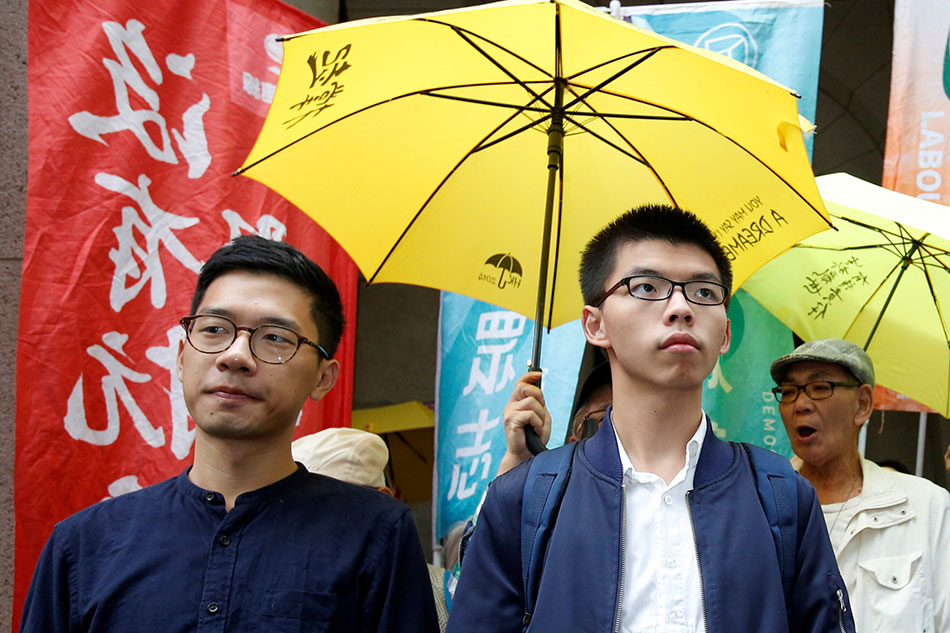 Joshua Wong nominated for Nobel