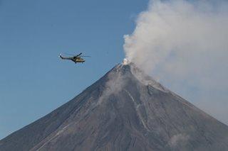 Circling comely Mayon