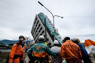 Leaning building in Taiwan to be demolished