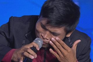 'Pilipinas Got Talent': Tricycle driver baffles with doll, shocks with 'Anak' cover