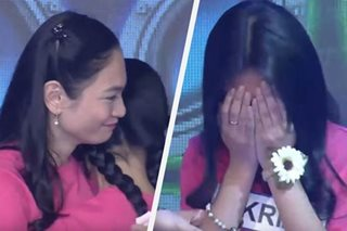 Tears as 'It's Showtime' starts eliminating MNL48 aspirants