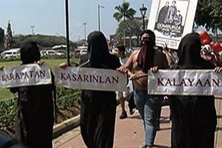 Paggunita sa anibersaryo ng Gomburza, sinabayan ng protesta kontra 'Cha-cha'