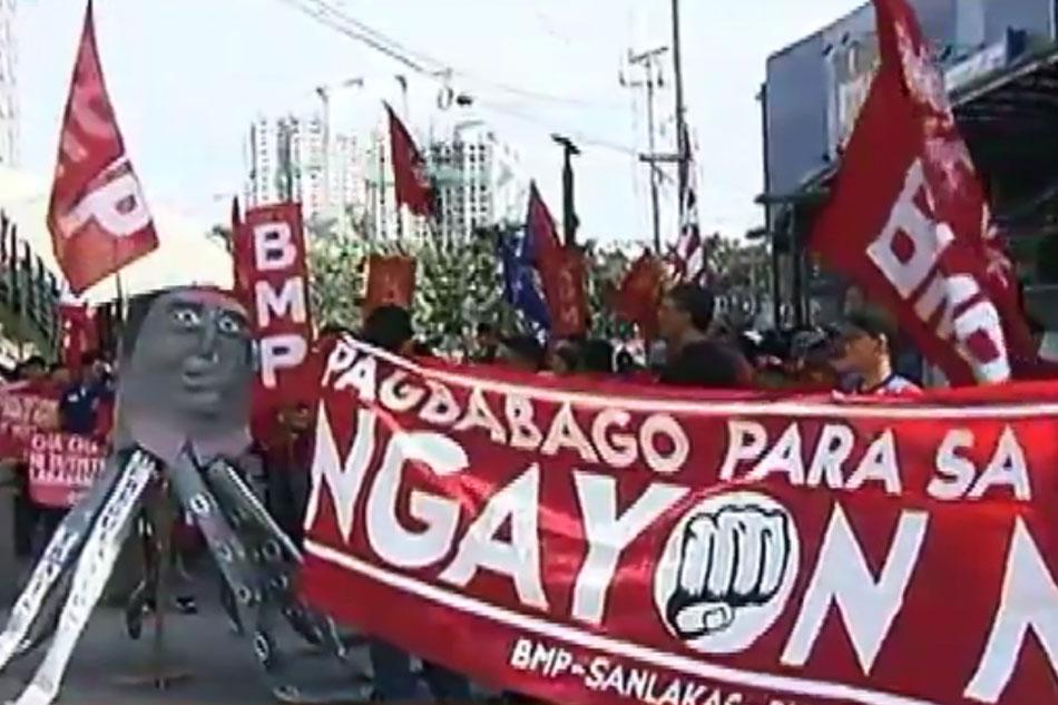 Iba-ibang grupo, ginunita ang #EDSA32 sa Mendiola, Bantayog ng mga Bayani