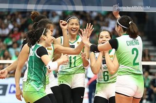 UAAP volleyball: La Salle regains swag, ends Ateneo's 4-game streak