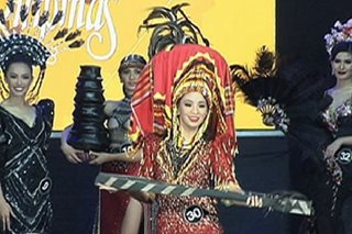 10 'Binibini,' finalists sa 'best in national costume'