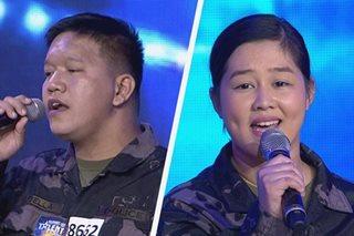 'Pilipinas Got Talent': Judges swoon over cops' duet