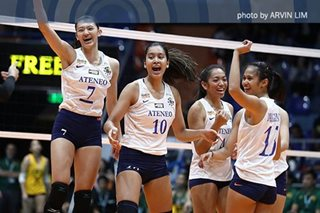 UAAP women's volleyball: Ateneo gets payback win over NU, shares second spot