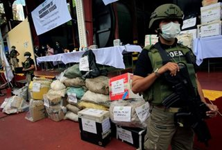 PDEA destroys confiscated drugs