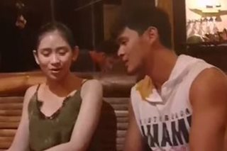 WATCH: Matteo, Sarah treat friends to 'private concert' in Palawan