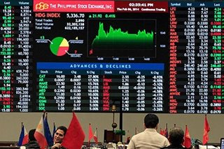 PH shares make last-minute jump, breach 8,000 anew