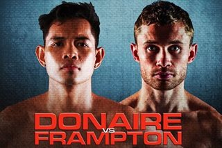 Donaire, Carl Frampton make weight for world interim title bout