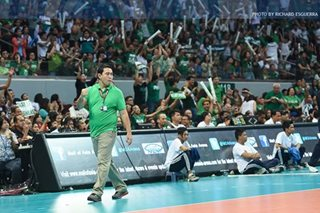 Volleyball: Ramil de Jesus asks for support after taking over as PH team coach