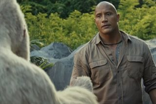 'Rampage' sneaks up on 'A Quiet Place' to win weekend box office