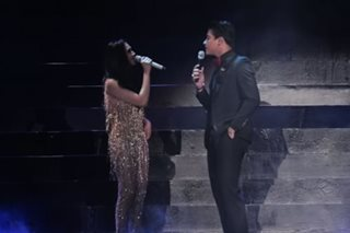 WATCH: Sarah G and Daniel Padilla in rare concert duet