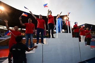 IN PHOTOS: Colors, icons welcome Palarong Pambansa delegates in Ilocos
