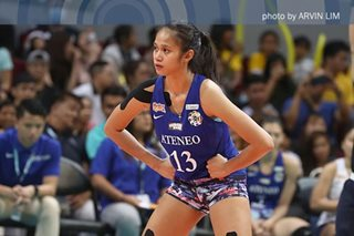 UAAP volleyball: 'I think I'm done,' says Ateneo's Jhoana Maraguinot
