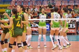FEU at La Salle, maghaharap sa UAAP women's volleyball finals